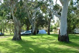 Grampians Paradise offers large grassed shady and sunny sites with or without power