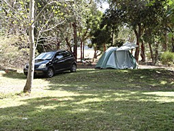 North1 (N1) Unpowered Standard Camping Site at Grampians Paradise Camping and Caravan Parkland
